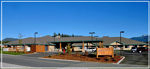 Front view of Delta King Place, providing assited living services in Kitimat BC